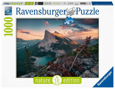 Ravensburger Abends in den Rocky Mountains palapeli