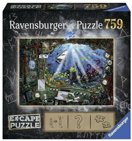 Ravensburger Escape 4 Submarine palapeli