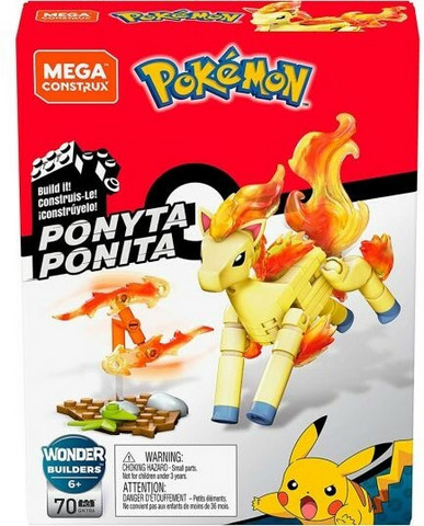 Pokemon Ponyta Ponita Rakenussarja