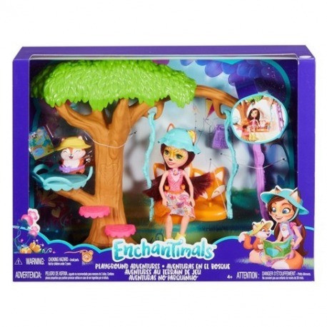 Enchantimals Felicity Fox leikkipuisto