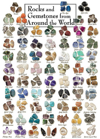 Master Pieces Rocks and Gemstones from Around the World palapeli