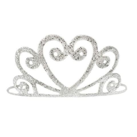 Tiara, hopea glitter