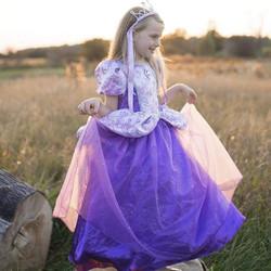 Great Pretenders Prinsessan asu lila 5-7v