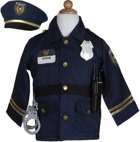 Great Pretenders Poliisipuku+tarvikkeet 5-7v