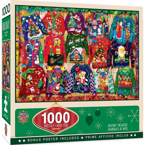 Master Pieces Holiday Sweaters palapeli 1000 palaa