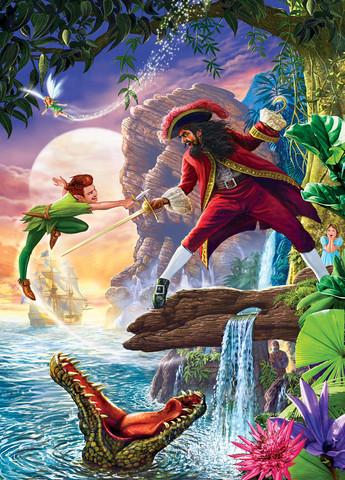 Master Pieces Peter Pan palapeli 1000 palaa