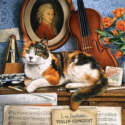 Master Pieces Cat Ology Gershwin palapeli 1000 palaa