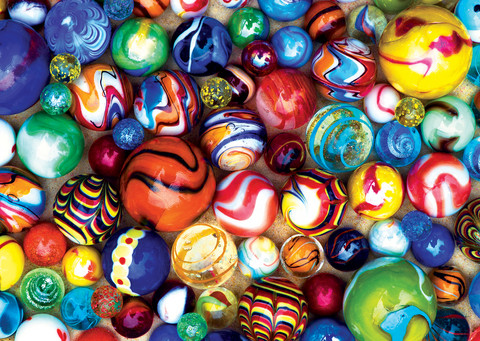 Master Pieces Mini Pieces - World's Smallest - All My Marbles palapeli