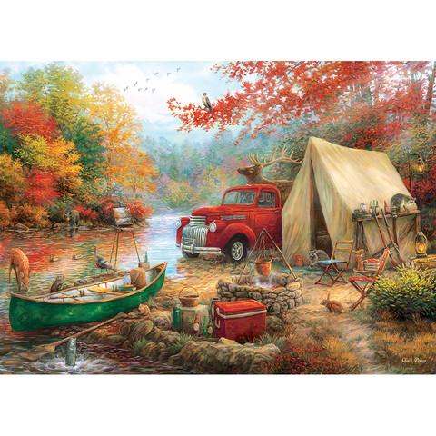 Master Pieces Chuck Pinson - Share the Outdoors palapeli 1000 palaa
