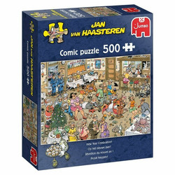 Jan Van Haasteren New year Celebration palapeli 500palaa