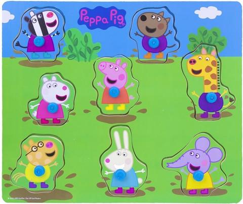 Pipsa Possu 8-osainen nuppipalapeli