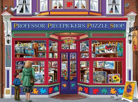 SunsOut Professor Puzzle Shop palapeli 1000 palaa