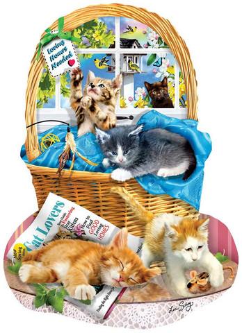 SunsOut Lori Schory - Free Kitties palapeli 1000 palaa