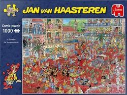 Jan Van Haasteren La Tomatina palapeli 1000 palaa