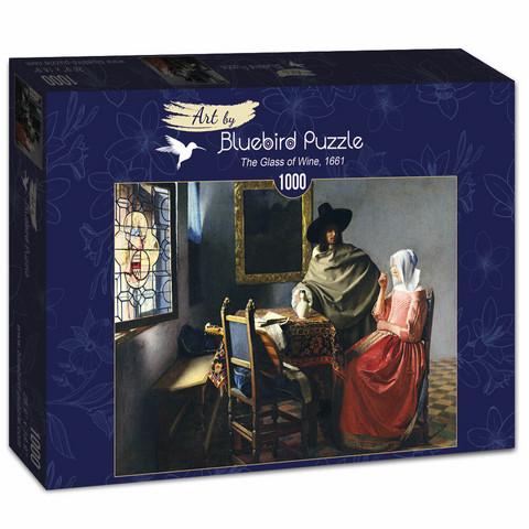 Bluebird Johannes Vermeer-The Glass of Wine palapeli 1000 palaa