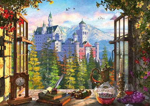 Schmidt View of the Fairytale Castle palapeli 1000 palaa