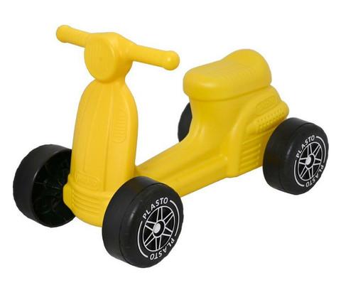 Plasto skootteri keltainen