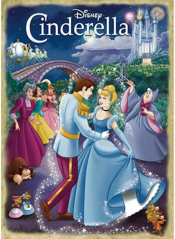 Disney Classic collection Cinderella palapeli 1000palaa
