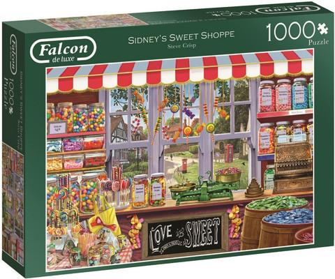Falcon Steve Crisp Sidneys Sweet Shoppe palapeli 1000 palaa