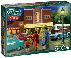 Falcon A Trip To The Movies palapeli 500 palaa