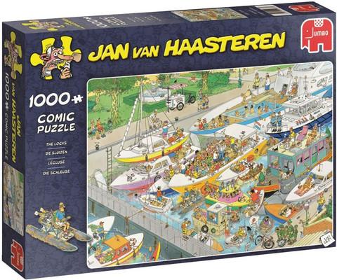 Jan van Haasteren Kanava palapeli 1000 palaa