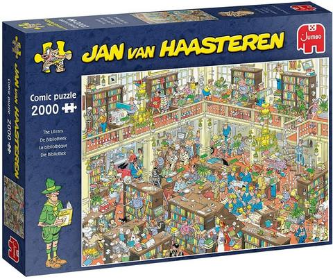 Jan van Haasteren The Library palapeli 2000 palaa