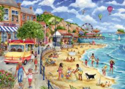 Falcon Seaside Promenade palapeli 1000 palaa