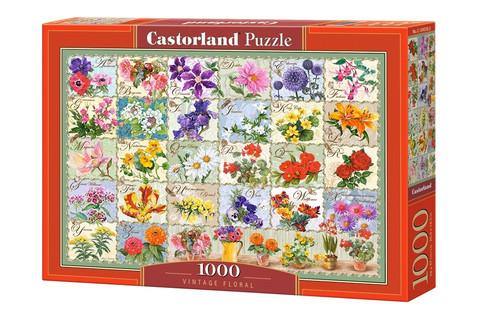 Castorland Vintage Floral palapeli 1000 palaa