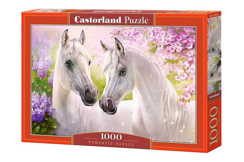 Castorland Puzzle Romantic Horses palapeli 1000 palaa