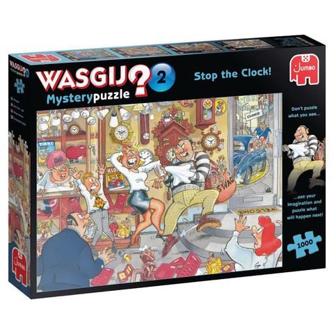 Wasgij Mystery 2 Stop the Clock! palapeli 1000 palaa