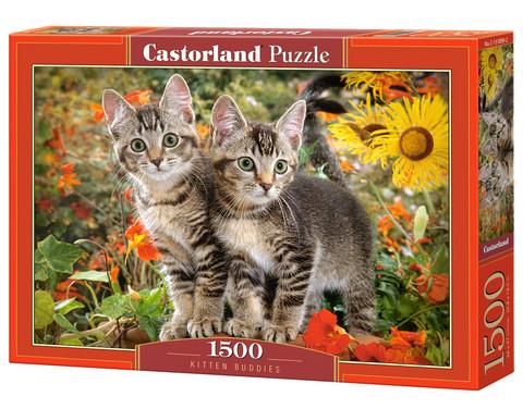 Castorland Kitten buddies palapeli 1500 palaa