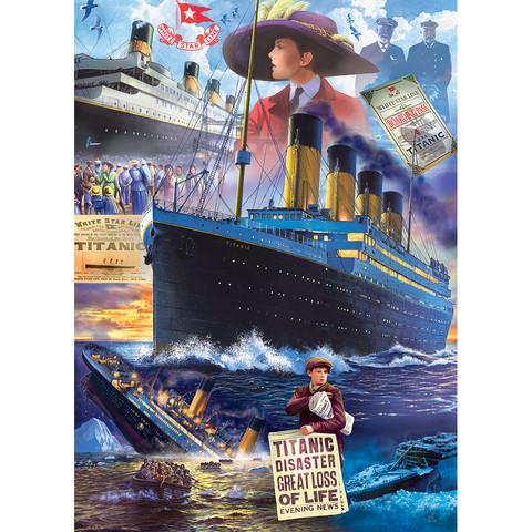 Master Pieces Titanic Collage palapeli 1000 palaa