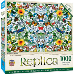 Master Pieces Butterflies palapeli 1000 palaa
