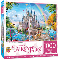 Master Pieces Fairytale Castle palapeli 1000 palaa