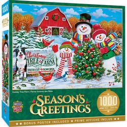 Master Pieces Holiday Tree Farm palapeli 1000 palaa
