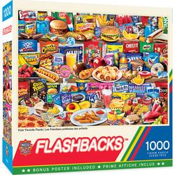 Master Pieces Kids Favourite Food palapeli 1000 palaa