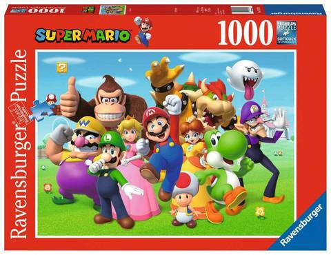 Ravensburger Super Mario palapeli 1000 palaa