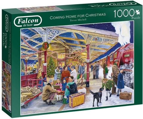 Falcon Coming home for Christmas palapeli 1000 palaa