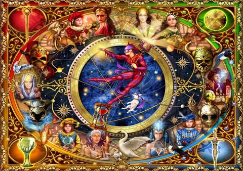 Bluebird Legacy of the Divine Tarot palapeli 1000 palaa