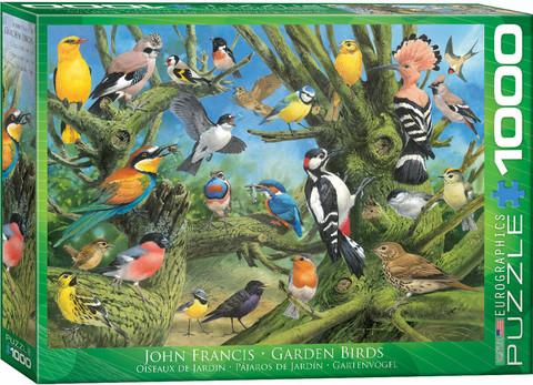Eurographics Garden Birds palapeli 1000 palaa