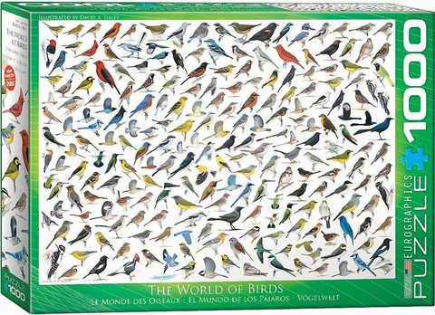Eurographics World Of Birds palapeli 1000 palaa