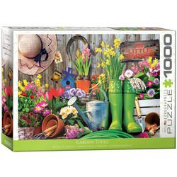 Eurographics Garden Tools palapeli 1000 palaa