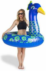 Riikinkukko- uimapatja