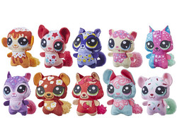 Littlest Pet Shop Juicy Pets Plush lajitelma