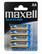 Maxell AA alkaline paristo 4kpl