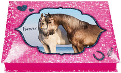 Horse Dreams Stationary box pinkki