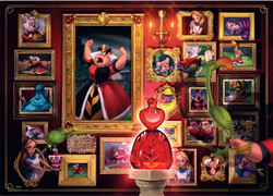 Ravensburger Villainous Queen of hearts
