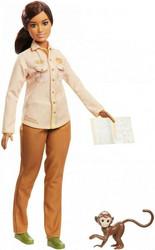 Barbie Wildlife Conservationist nukke