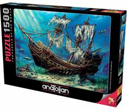 Anatolian Shipwrek Sea palapeli