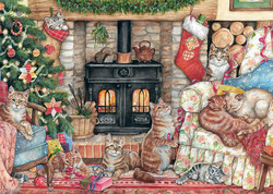 Falcon Christmas Cats palapeli